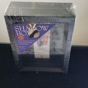 Black shadowbox frame ,NEW